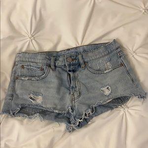 UO BDG short shorts size 28/29